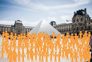 France - tourists 2014